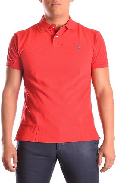 Polo Ralph Lauren Polo Otoño/Invierno 16 Slim-fit Rojo L: Amazon ...