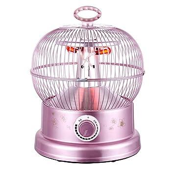 Heater GJM Shop Escritorio Estufa Calentamiento De Tubos De Fibra De Carbono Espejo De Reflexión El Ahorro De Energía Calor Rapido Protección contra Vuelcos ...