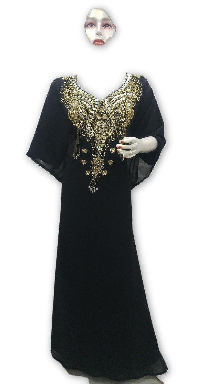 MEHREEN CREATION EXCLUISVE Modern Kaftan Dress Dress for Women 6101 at  Amazon Women s Clothing store  45c5d97432e