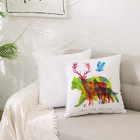 Soft Pillow Case Cover Animal Popular