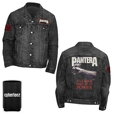 854f446725f41d Pantera Vulgar Display of Power Custom Denim Jacket + Coolie (2XL ...
