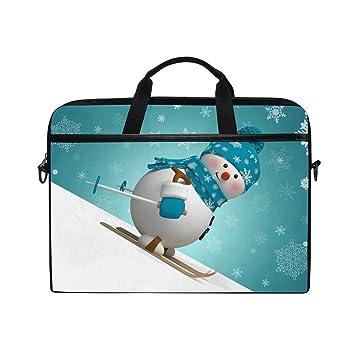 Ahomy - Bolso Bandolera 3D de Navidad, diseño de muñeco de Nieve ...