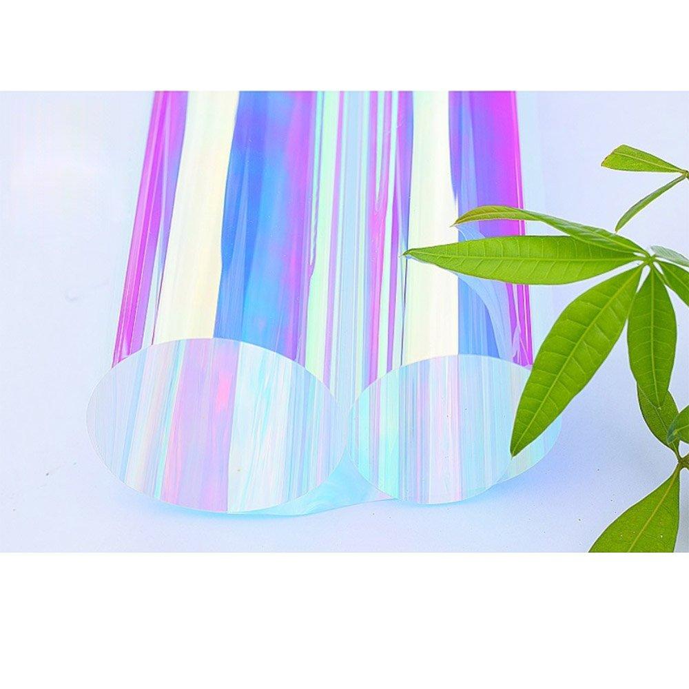 Hohoカメレオンカラフルウィンドウガラスフィルムカラーグラデーションパープルフィルム断熱材用のショッピングTintホームオフィスガラスの装飾 138cmx300cm CF-01-138cm300cm B077L136F7 138cmx300cm  138cmx300cm