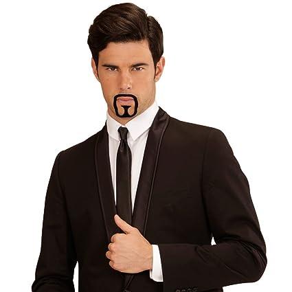 Barba artificial árabe o rapero falso bigote perilla rapero traje ... 2a9858de395