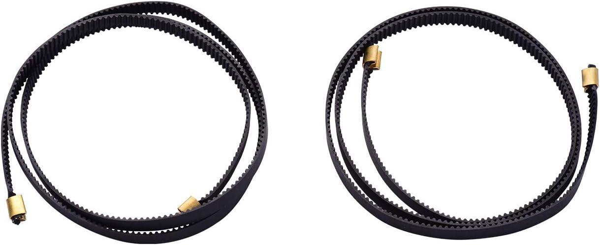 Eje X 786 mm para impresora 3D Ender-3 Compatible con impresora 3D Ender-3 Aibecy Ender-3 Belt 2GT Ancho de la correa de distribuci/ón 6 mm Eje Y 743 mm Ender-3 Pro