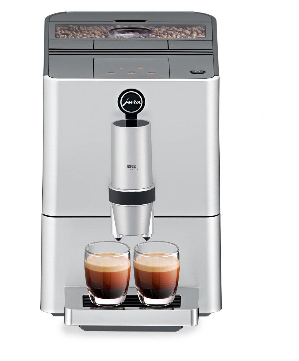 Amazon.com: Jura 15106 ENA Micro 5 Automatic Coffee Machine, Silver ...