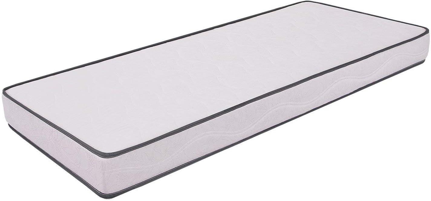 Miasuite i sogni italiani - Colchón individual para cama plegable - Alto 10 cm - Fabricado en Waterfoam - Colchón ortopédico - Dispositivo médico - Modelo primavera