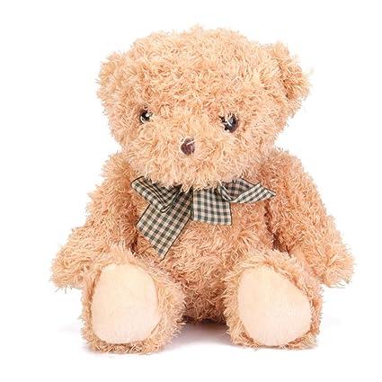 Xueliee 8 Inch Teddy Bear Stuffed Animal Plush Toys Doll for Kids Baby Christmas Birthday Gifts