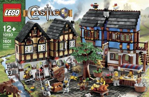 Amazon.com: LEGO Castle Medieval Market Village (10193): Lego Castle ...