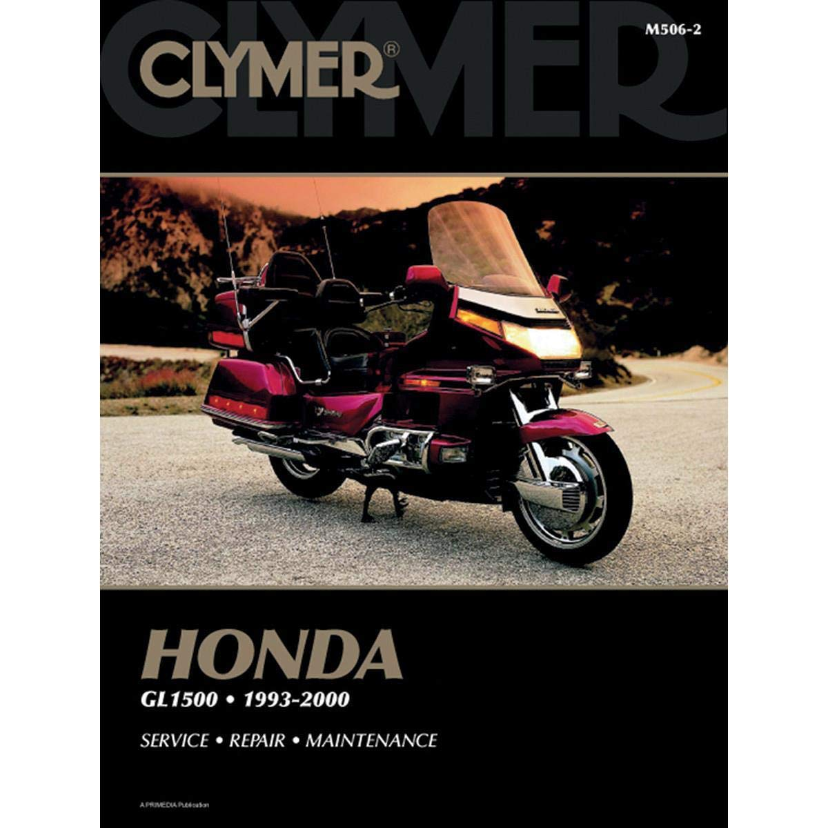 93 Gl1500 Wiring Diagram A Modern Design Of Radio Amazon Com Clymer Repair Manual For Honda Goldwing 00 Rh Gl1000