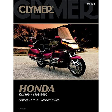 amazon com: clymer repair manual for honda gl1500 goldwing 93-00: automotive