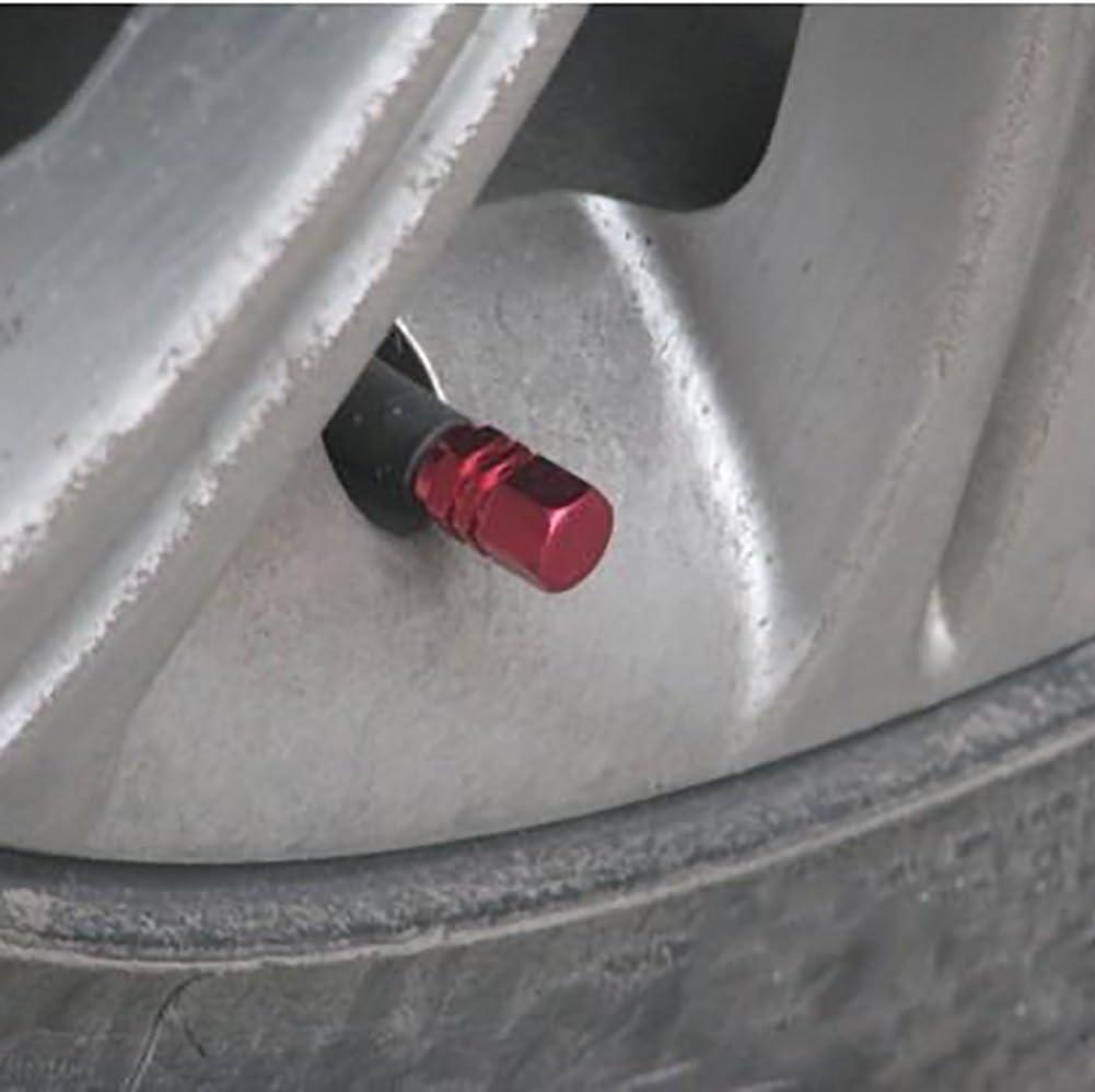 4 tapones Ouken para v/álvula de neum/ático para tapar el polvo color al azar para coches