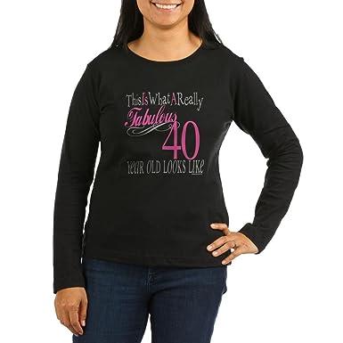 Amazon.com: CafePress – 40º cumpleaños regalos de la mujer ...
