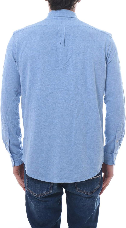 Polo Ralph Lauren Camisa Pique Celeste Hombre XL Azul: Amazon.es: Ropa y accesorios