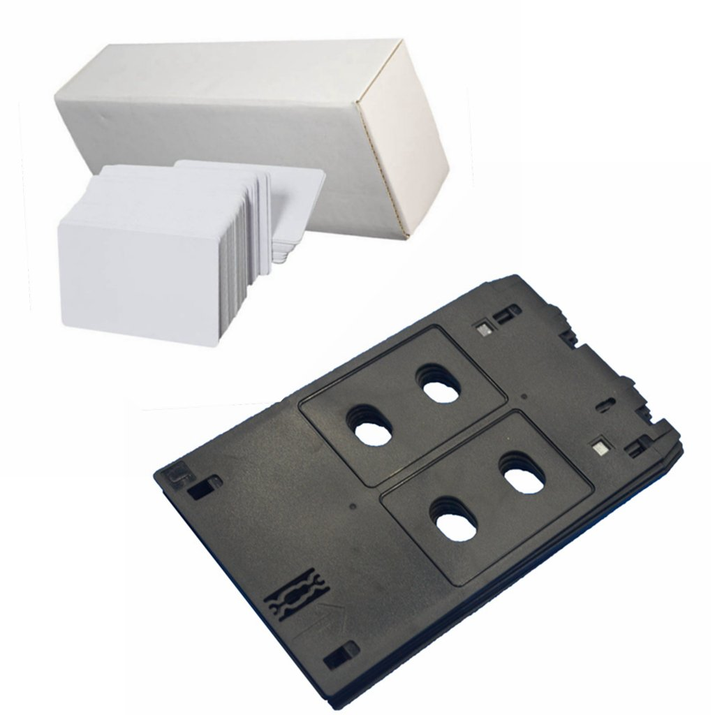 Inkjet PVC-Karte mit Ablage, für Canon J-Drucker-Typen,MX922, MG7720, MG5400, MG5420, MG5422, MG5430, MG5450, MG5460, MG5470, MG5480, iP7200, MG7120, iP7230 20PCS Cards Canon J Tray