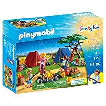 Playmobil Camp Site with Fire Building Kit