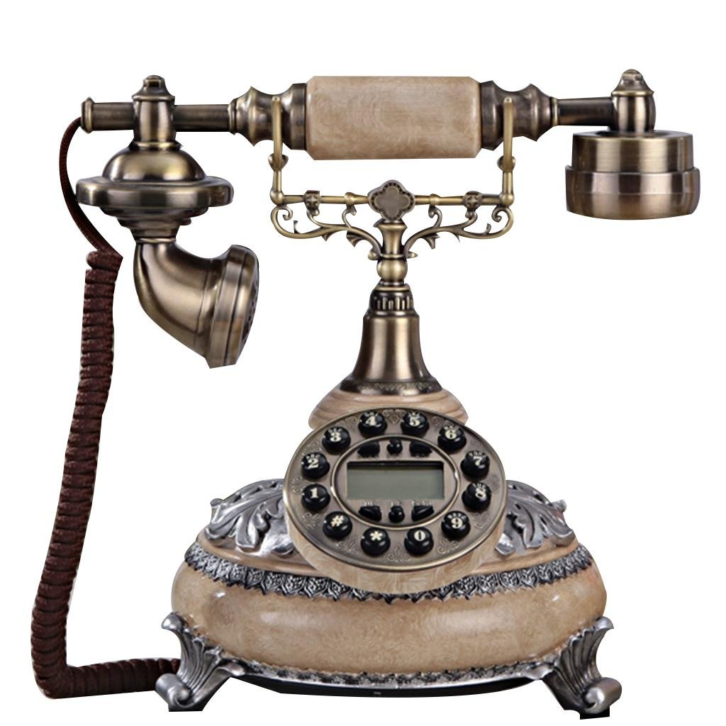 LLP LM Home living room Telephone Retro Fixed telephone Landline bedroom Decoration