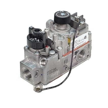 amazon com fireplace valve 710 503 robertshaw millivolt snap acting rh amazon com napoleon fireplace gas valve gas valve fireplace replacement
