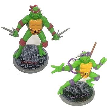 TMNT Teenage Mutant Ninja Turtles Figurines (Raphael Donatello)