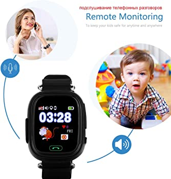 Relojes Inteligentes Gps Q90 Wifi Posicionamiento Smart Watch ...