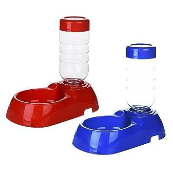 Dispensador de agua TAONMEISU para mascotas, dispensador para gatos, perros, de plá