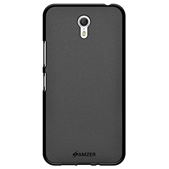 AMZER Pudding Soft Gel TPU Fit Case Cover Skin for Lenovo Zuk Z1 - Retail Packaging - Black