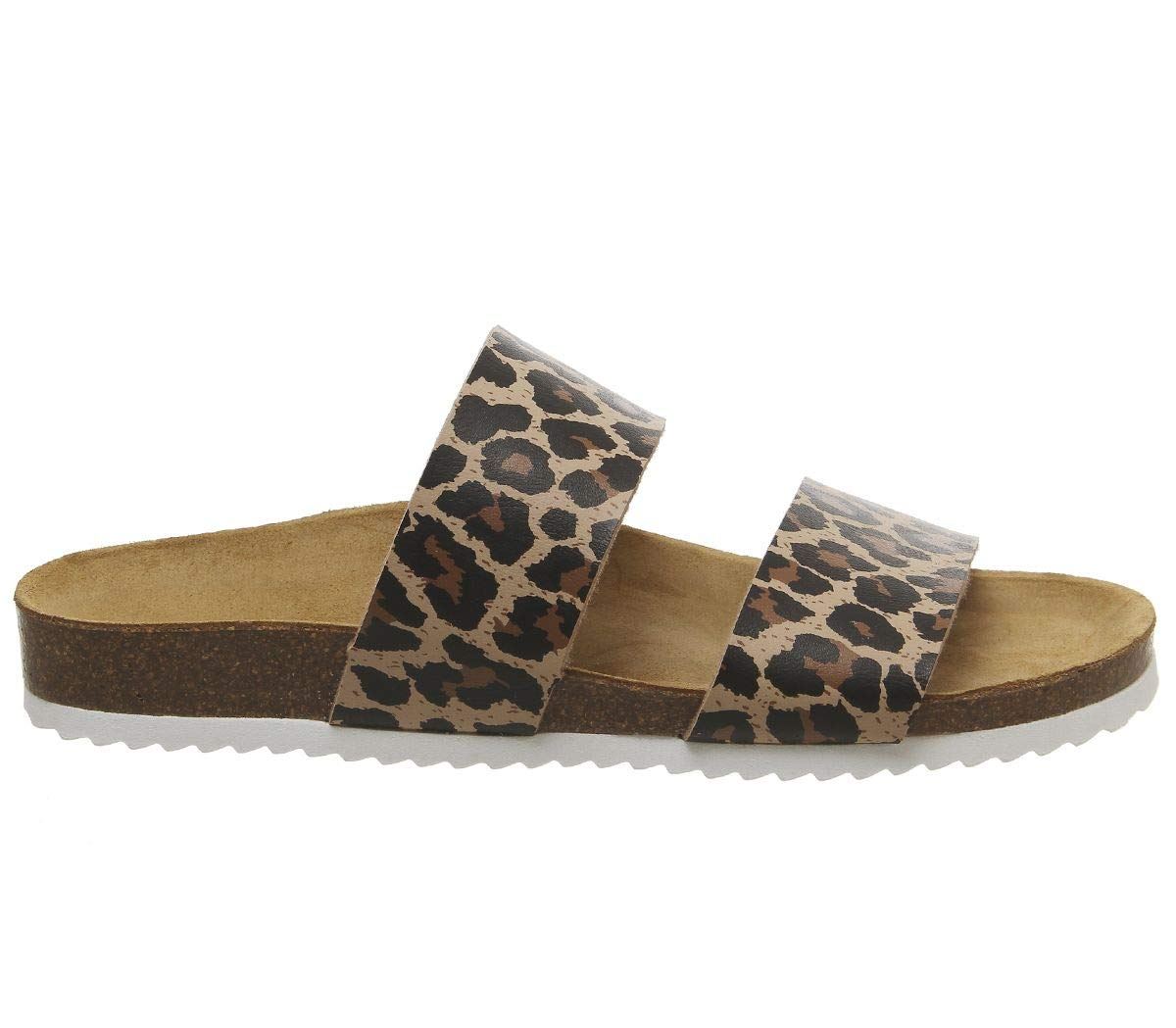 Womens Office Oslo 2 Sandals New Leopard Print Sandals