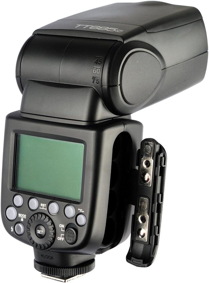 X-T2 X-T1 DSLR Camera Godox TT685F TTL Flash Speedlite 2.4G GN60 HSS 1//8000s 0.1-2.6s Recycle Time X-T20 230 Full Power Flashes for Fujifilm X-pro2