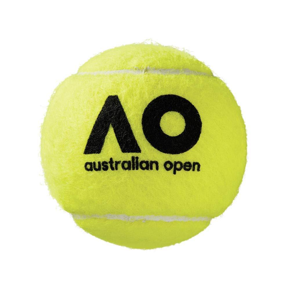 Amazon.com : C2C Wilson Australian Open Tennis Ball Pack of 12 Best Sports 100% Original Brand : Sports & Outdoors