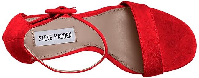 Red Friday Suede Steve Ta Sandalo Madden WDH29eYEI