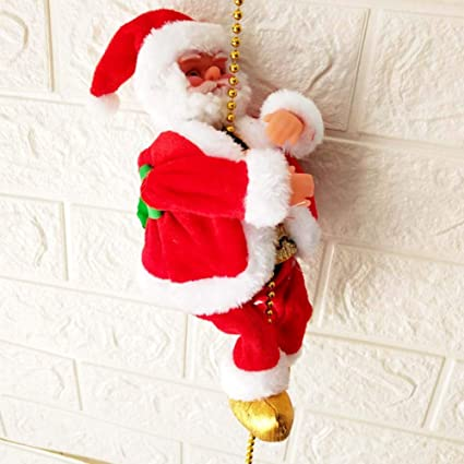 Decoraciones navideñas Santa Claus Cuerda de Escalada ...