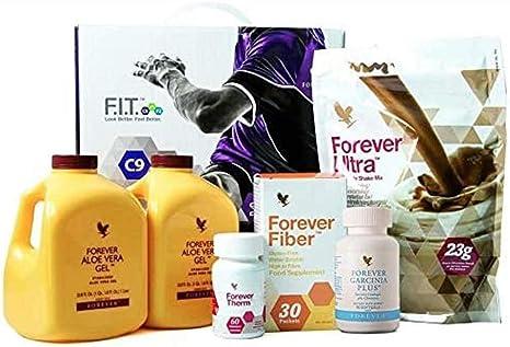 Forever Living Clean 9 Kit Di Integratori Per Disintossicazione Amazon It Salute E Cura Della Persona