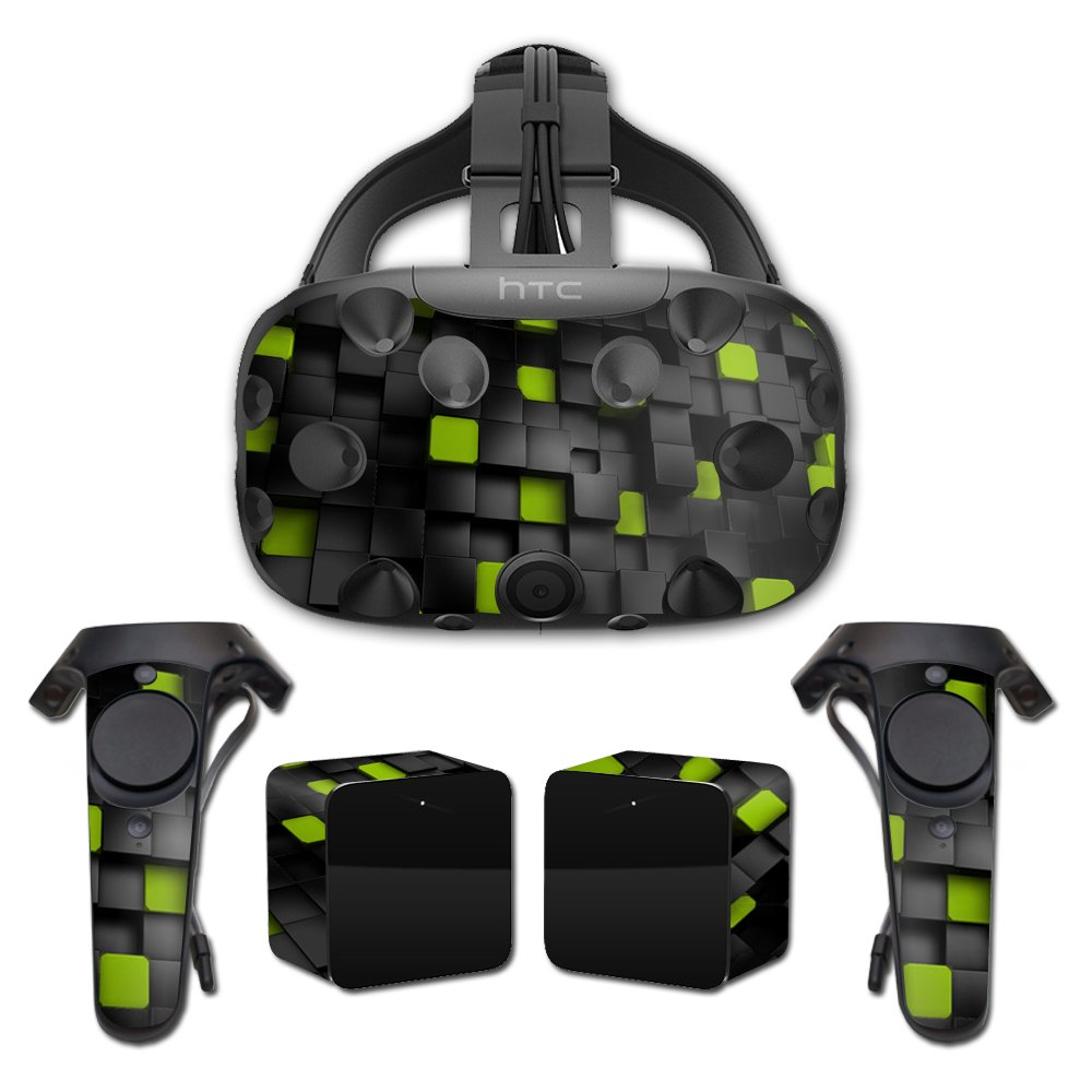 MightySkins Skin for HTC Vive Full Coverage - Cubes | Protective, Durable, and Unique Vinyl Decal wrap Cover | Easy to Apply, Remove, and Change Styles | Made in The USA