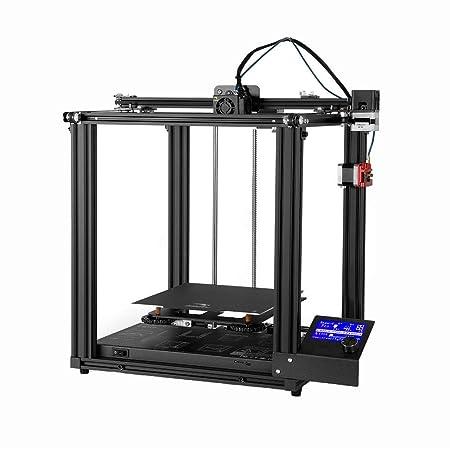 Ljleey-OF Impresora 3D Pequeña Impresora estéreo Modelo 3D DIY ...