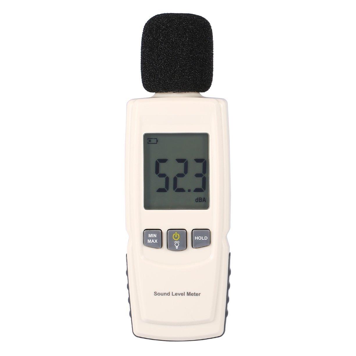 Professional Sound Level Meter Digital Noise Tester LCD Screen Audio Vioce Describe Meter Decibel Monitor Pressure Tester