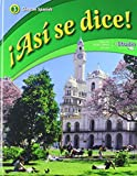 img - for  Asi se dice! Level 3, Student Edition (SPANISH) (Spanish Edition) book / textbook / text book
