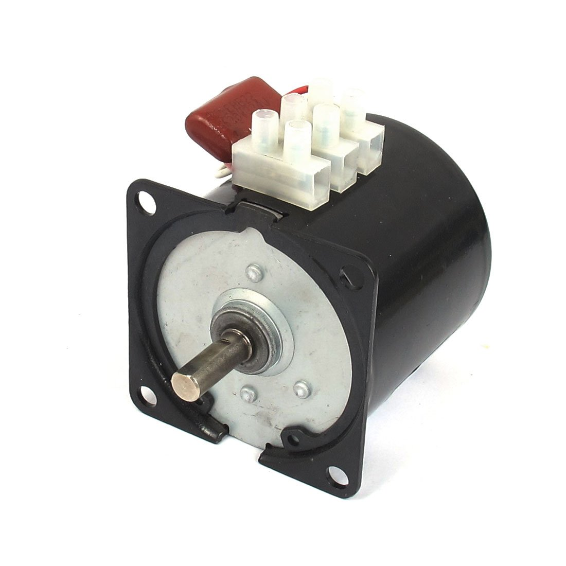 sourcingmap AC 220V 10RPM 50Hz Electric Machine Gear Motor 60KTYZ w Capacitor a12101600ux0139
