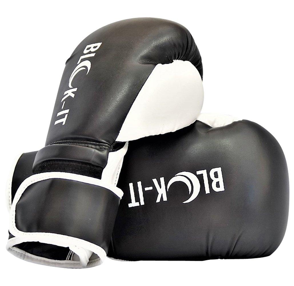 Guantes de Boxeo: Blok IT Especialista Equipo para Boxeo Pro Adecuado para