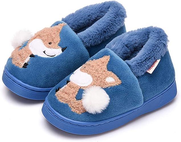 Toddler Infant kids Baby Boys Girls Fashion Winter Warm Cute Animal Home Slipper