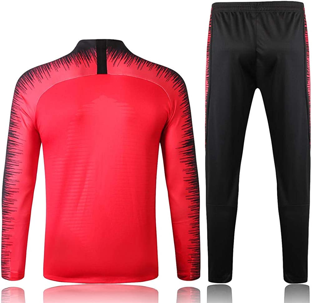 ZuanShiDaHeng Combinaison dentra/înement de Football /à Manches Longues Apparence Costume Combinaison dentra/înement de comp/étition @ 1/_L