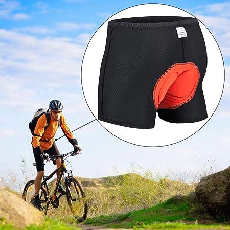 Mens Cycling Shorts Mountain Bike MTB Bicycle Shorts Padded Pants Undershorts