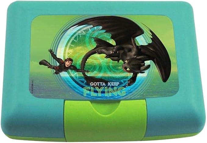Dragons Caja Merienda Caja de Desayuno con Separador   Vesper ...
