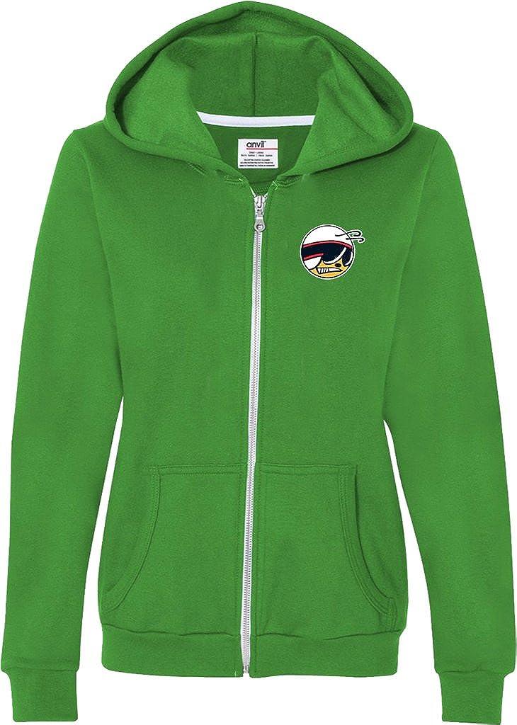 Buy Cool Shirts Ladies Dodge Scat Pack Logo (Pocket Print) Full Zip Hoodie