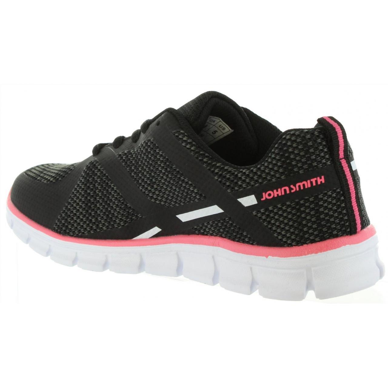 John Smith Zapatillas Deporte de Mujer RULEN Negro: Amazon.es: Zapatos y complementos