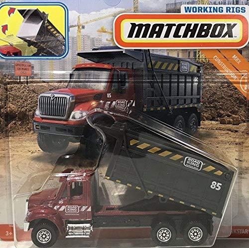Matchbox Construction International WORKSTAR Dump Truck Working RIGS DIE-CAST
