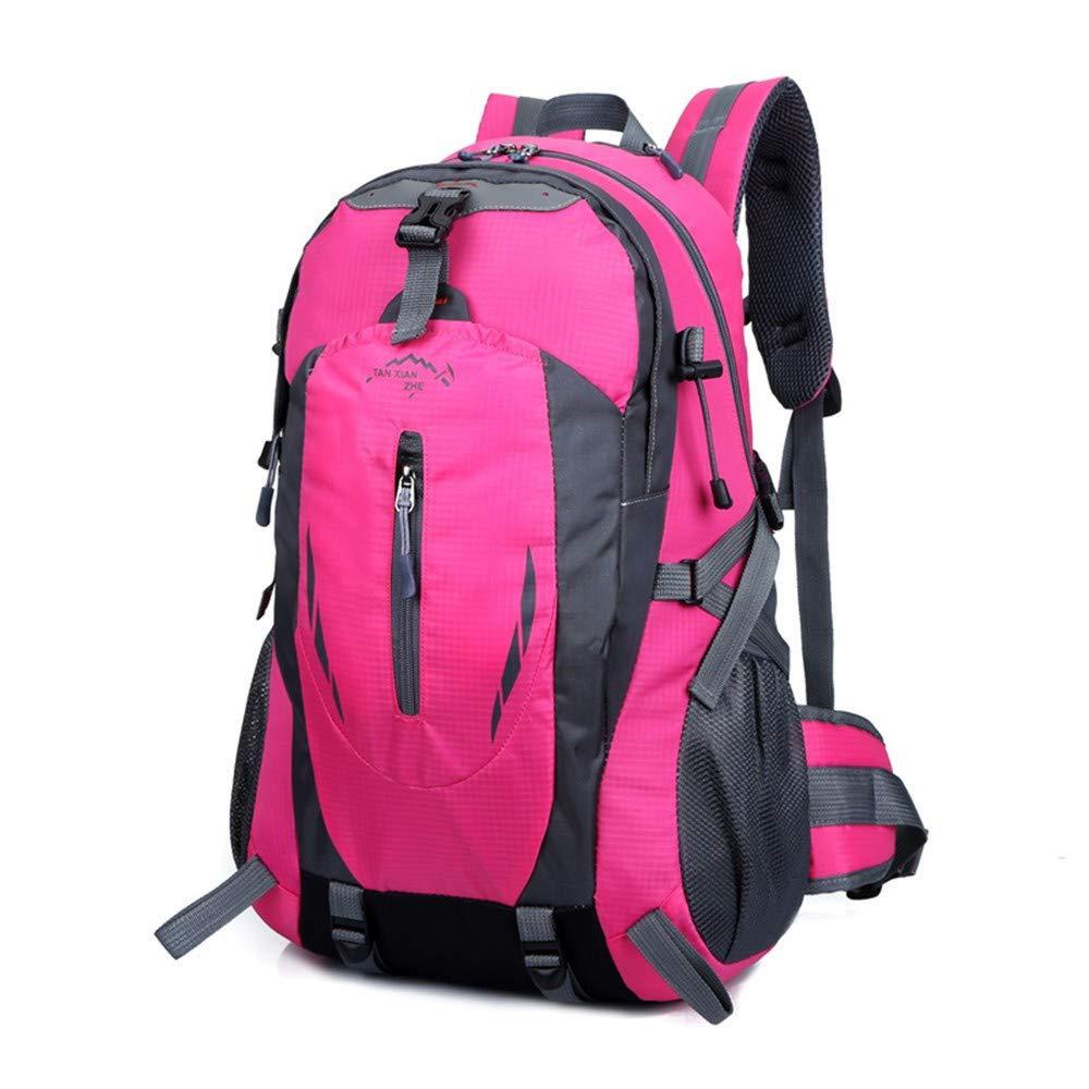 CGQRucksack wasserdicht Bergsteigenbeutel reiten Wasserflasche Tasche Tasche Tasche Outdoor-Sport-Reiserucksack, rot, 50cm  33cm  22cm B07NP6PMV2 Ruckscke Leitende Mode 8d1d52