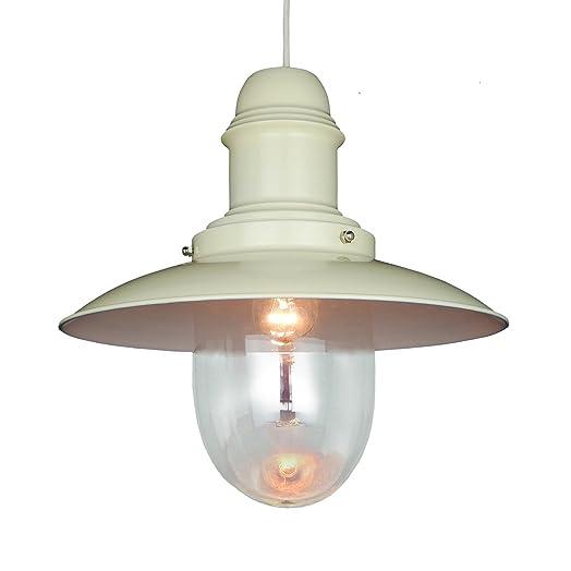 Fishermans Traditional Metal Lantern Ceiling Light Pendant Shade - Cream  sc 1 st  Amazon UK & Fishermans Traditional Metal Lantern Ceiling Light Pendant Shade ... azcodes.com