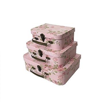 Juego de 3 cajas de regalo de compromiso para boda, día de San Valentín,