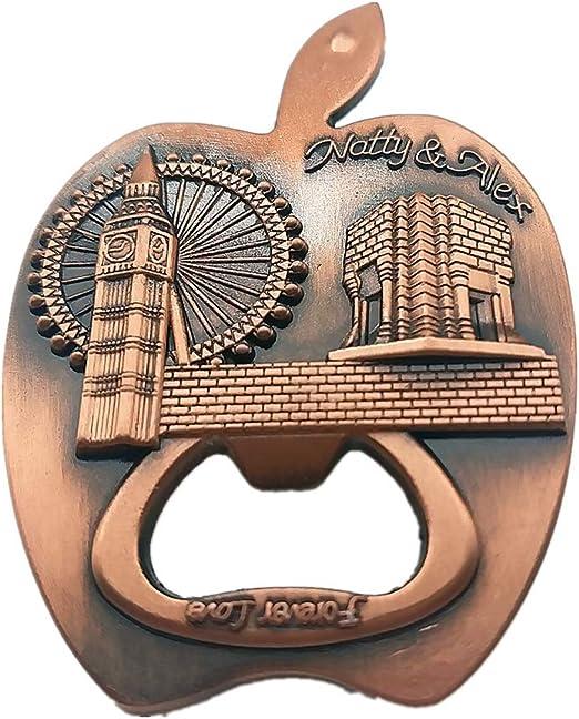 3D souvenir Résine London aimant de réfrigérateur Décor Réfrigérateur Autocollant Voyage Cadeau