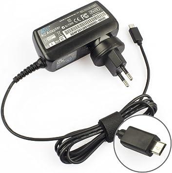 Tomeasy® Cargador Tablet Adaptador de CA 11UNMIC5P 5V 2A Micro USB para Smartphone Teléfono Móvil